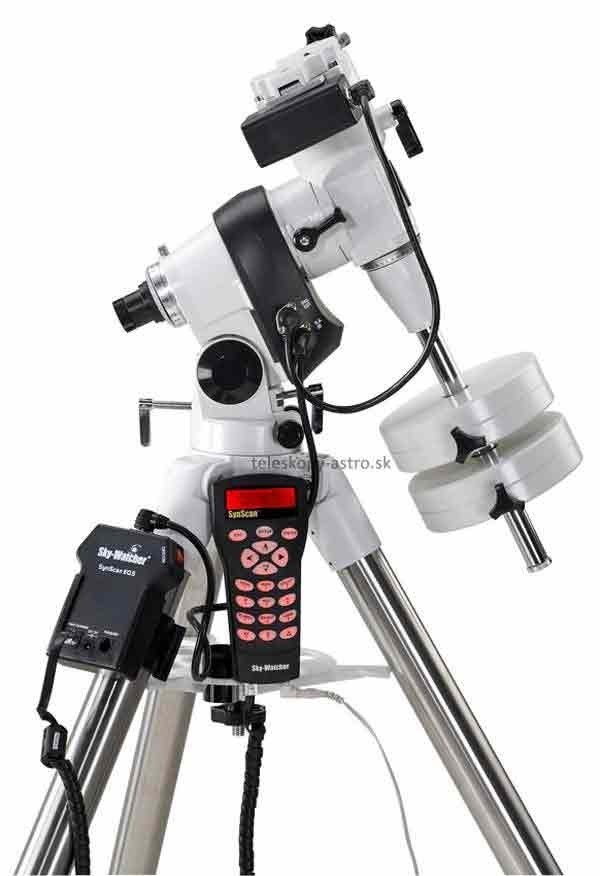 Montáž Sky-Watcher paralaktická EQ5 GoTo s ocelovým stativem