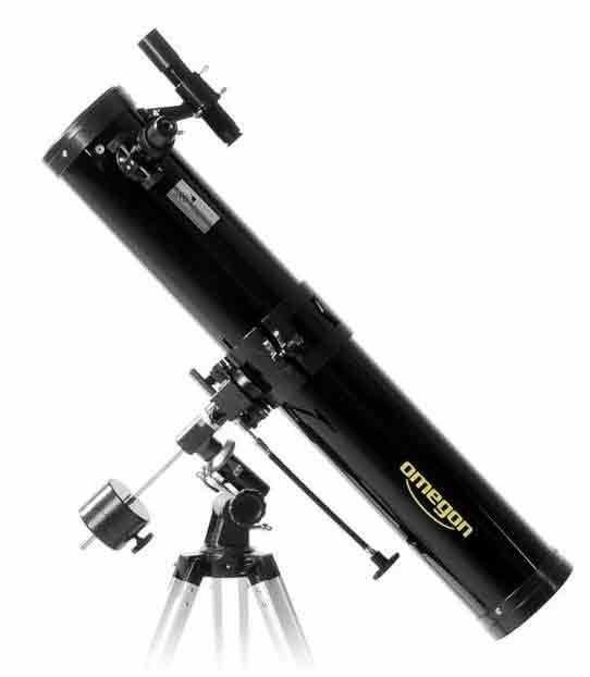 Teleskop Omegon 114/900 EQ-1