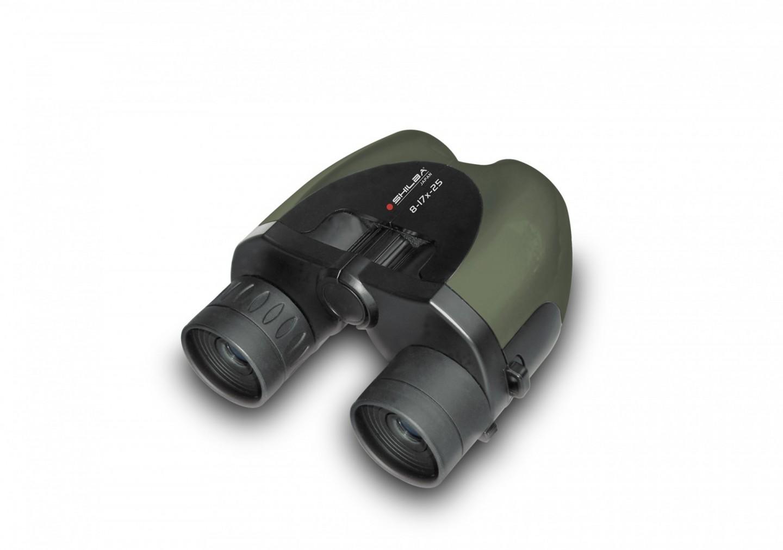 Dalekohled Shilba Compact 8-17x25 Green zoom