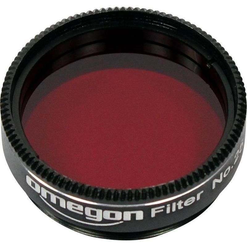 Barevný filtr Omegon červený