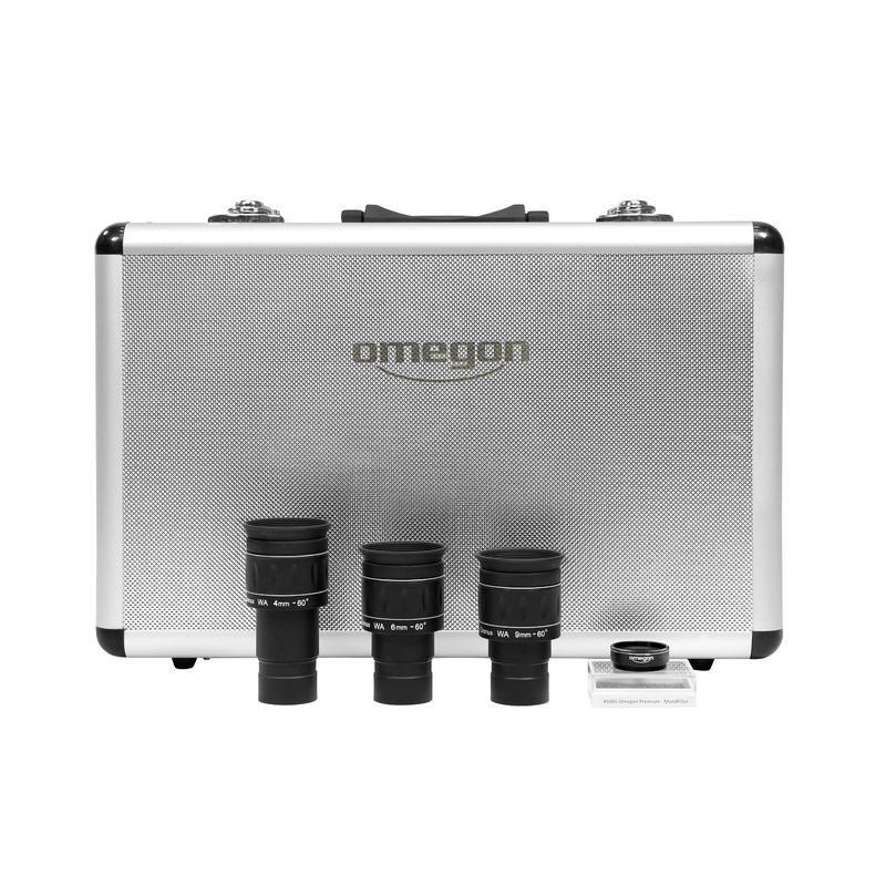 Okulárový set OMEGON Cronus s měsíčním filtrem